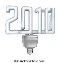 Compact fluorescent lamp (CFL) 2010 - Modern fluorescent...