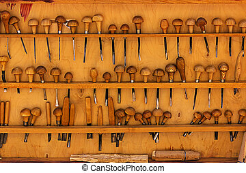 Tool linocut and woodcarving - Hand tools for linocuts and...