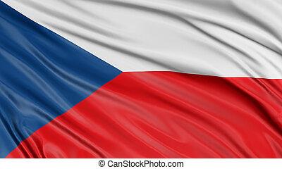 3D Czech flag