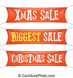 Biggest Christmas sale banners