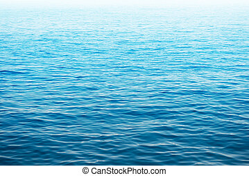 Blue sea water. Ocean surface for natural background
