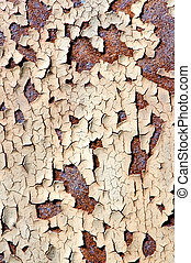 Rusty metal texture - Detail texture of rusty and choppy...