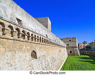 The Norman-Swabian Castle of Bari. Apulia. - The Aragonese...