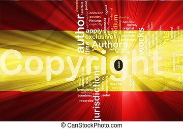 Flag of Spain wavy copyright law - Flag of Spain, national...