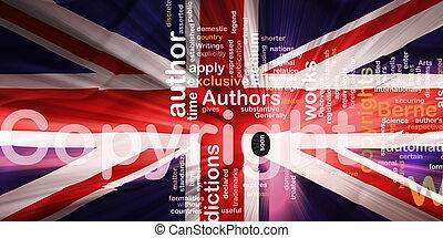 Flag of United Kingdom wavy copyright law - Flag of United...