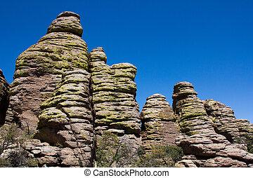Hoodoos at Chiricahua - Unique Hoodoos Formations at...