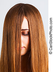 Long haired woman