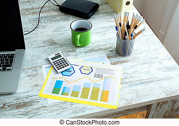 Business calculation in the office - Business calculations...