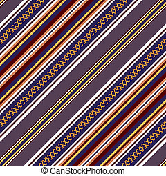 Seamless diagonal pattern