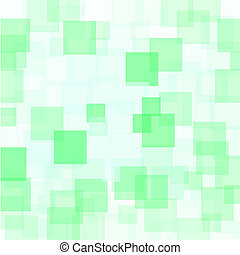 Abstract Green Squares Background Abstract Green Squares...