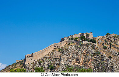 Palamidi fortress on the hill, Nafplion