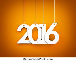 nuevo,  2016,  -, Plano de fondo, año