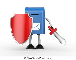 Mailbox under protection - Your mailbox under protection and...