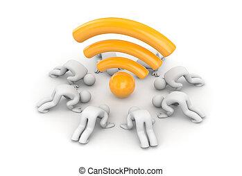 Fans of Wi-Fi