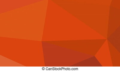 Low poly animation of a fox