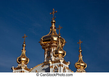 domes - golden domes