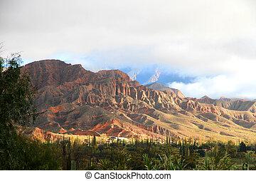 Landscape in Salta - Landscape in Salta in Argentina, South...