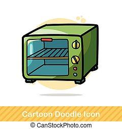 microwave color doodle