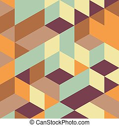 Abstract geometrical 3d background. Can be used for...