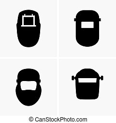 Welding masks (shade pictures)