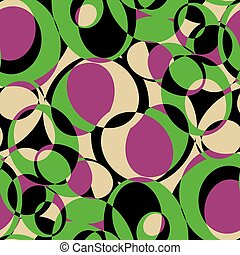 Pattern of olives
