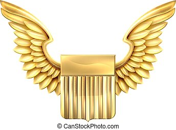 United States Winged Shield