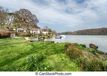 St Clement, a small picturesque hamlet on thebanks of the...