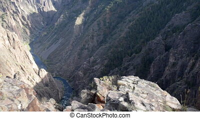 Black Canyon of the Gunnison National Park - Gunnison Point...