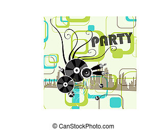 party background