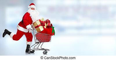 Claus, navidad,  santa