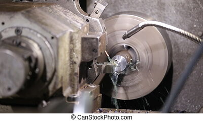 programmable lathe work