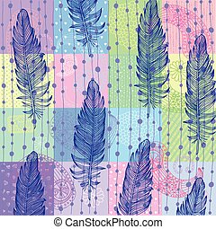Feather background - Vivid feather background