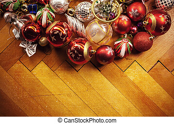 Christmas Tree Decoration - Old Christmas tree ornaments,...