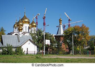 Church of the Transfiguration in Zhukovsky - ZHUKOVSKY,...