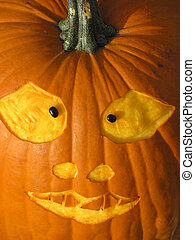 Cross-eyed Pumpkin face