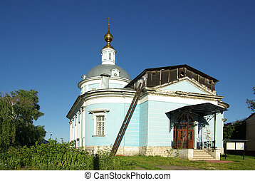 KOLOMNA, RUSSIA - Jule, 2014: Church of the Intercession of...