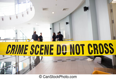 crime scene do not cross - crime scene tape and law...