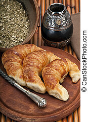 Croissants and Mate - Yerba Mate and Croissants, this is a...