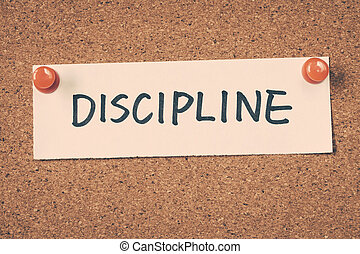 disciplina,