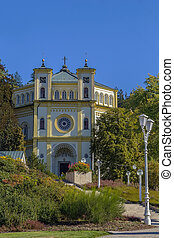 Church of the Virgin Mary Assumption, Marianske Lazne -...