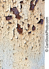 Rusty metal texture detail - Detail texture of rusty and...
