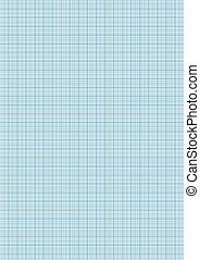 Graph paper cyan color on a4 sheet size