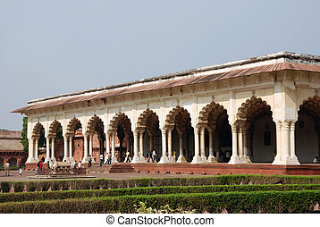 Passage of Agra Fort in India