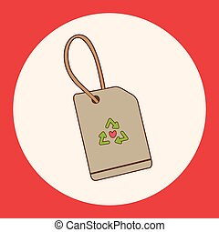 recycled tag