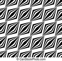 patrón,  seamless, paralelogramos,  vector, rayado, arte