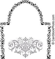 Arbor - Floral filigree frame