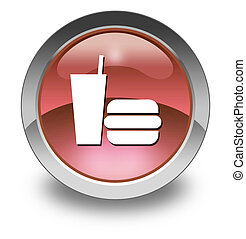 Icon, Button, Pictogram Fast Food - Icon, Button, Pictogram...
