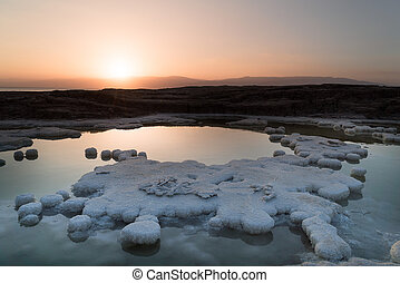 Dead Sea salt water