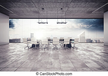 Meeting room - The meeting room in a luxury building