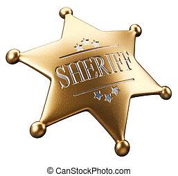 insignia,  sheriff\'s